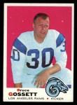 1969 Topps #194  Bruce Gossett  Front Thumbnail