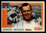 1955 Topps #61  Charley Brickley  Front Thumbnail