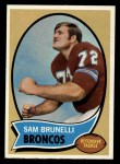 1970 Topps #67  Sam Brunelli  Front Thumbnail