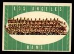 1961 Topps #56   Rams Team Front Thumbnail