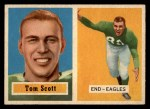 1957 Topps #25  Tom Scott  Front Thumbnail