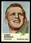 1961 Fleer #51  Tommy McDonald  Front Thumbnail