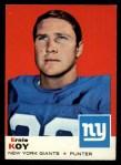 1969 Topps #131  Ernie Koy  Front Thumbnail