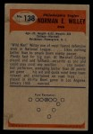 1955 Bowman #138  Norm Willey  Back Thumbnail