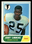1968 Topps #177  Jerry Simmons  Front Thumbnail