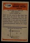 1955 Bowman #149  Dick Bielski  Back Thumbnail