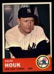 1963 Topps #382  Ralph Houk  Front Thumbnail