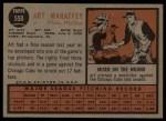 1962 Topps #550  Art Mahaffey  Back Thumbnail