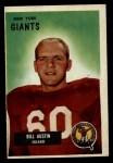 1955 Bowman #11  Bill Austin  Front Thumbnail