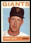 1964 Topps #374 ^COR^ Bob Bobby Bolin  Front Thumbnail
