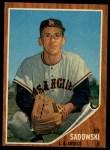 1962 Topps #569  Ed Sadowski  Front Thumbnail