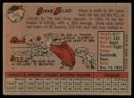 1958 Topps #346  Steve Bilko  Back Thumbnail