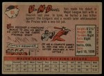 1958 Topps #65 ^WN^ Von McDaniel  Back Thumbnail