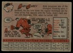 1958 Topps #333  Andy Carey  Back Thumbnail