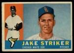 1960 Topps #169  Jake Striker  Front Thumbnail