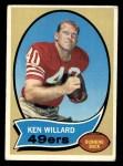 1970 Topps #217  Ken Willard  Front Thumbnail