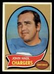 1970 Topps #73  John Hadl  Front Thumbnail