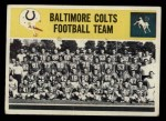 1964 Philadelphia #13   Colts Team Front Thumbnail