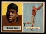 1957 Topps #85  Richard Lane  Front Thumbnail