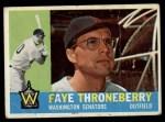 1960 Topps #9  Faye Throneberry  Front Thumbnail
