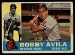 1960 Topps #90  Bobby Avila  Front Thumbnail