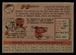 1958 Topps #435  Ed Roebuck  Back Thumbnail