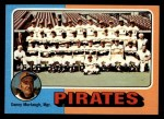 1975 Topps #304   -  Danny Murtaugh Pirates Team Checklist Front Thumbnail