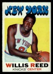 1971 Topps #30  Willis Reed   Front Thumbnail