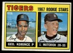 1967 Topps #72   -  George Korince / John Matchick Tigers Rookies Front Thumbnail