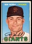 1967 Topps #156  Ron Herbel  Front Thumbnail