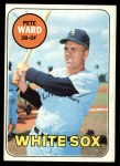 1969 Topps #155  Pete Ward  Front Thumbnail
