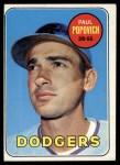 1969 Topps #47 C Paul Popovich  Front Thumbnail