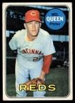 1969 Topps #81  Mel Queen  Front Thumbnail