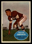 1960 Topps #96  Preston Carpenter  Front Thumbnail