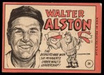 1969 Topps #24 ^COR^ Walter Alston  Back Thumbnail