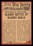 1965 A and BC England Civil War News #64   Jaws of Death Back Thumbnail