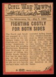 1965 A and BC England Civil War News #61   The Flaming Forest Back Thumbnail