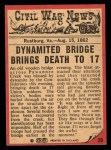 1965 A and BC England Civil War News #29   Bridge of Doom Back Thumbnail