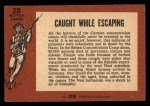 1966 A and BC England Battle #28   Caught While Escaping Back Thumbnail