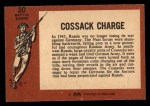 1966 A and BC England Battle #30   Cossack Charge Back Thumbnail