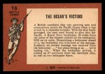 1966 A and BC England Battle #16   The Ocean'S Victims Back Thumbnail