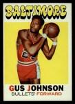 1971 Topps #77  Gus Johnson   Front Thumbnail