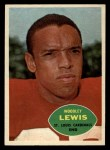 1960 Topps #107  Woodley Lewis  Front Thumbnail