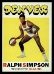 1971 Topps #232  Ralph Simpson  Front Thumbnail