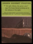 1966 Donruss Green Hornet #9   Party's Over Back Thumbnail
