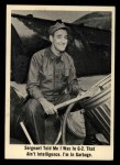1965 Fleer Gomer Pyle #9   Sergeant Told Me I Was in G-2 Front Thumbnail