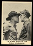 1965 Fleer Gomer Pyle #16   Pyle You've Got to Stop Eating Front Thumbnail