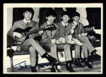 1964 Topps Beatles Black and White #105  John Lennon  Front Thumbnail