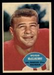 1960 Topps #116  Hugh McElhenny  Front Thumbnail