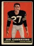 1961 Topps #187  Joe Cannavino  Front Thumbnail
